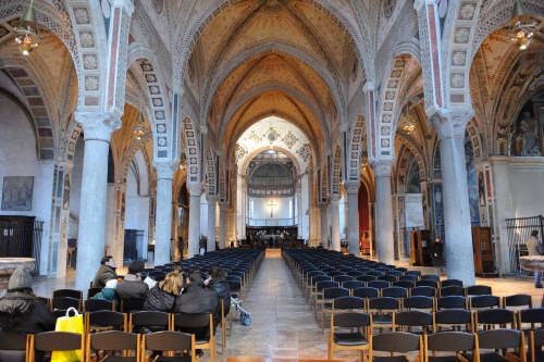 サンタ・マリア・デッレ・グラツィエ教会の内部