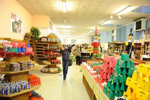 ヴェローナのお土産店