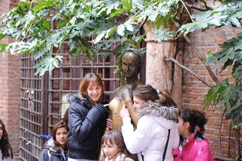 ジュリエットの像