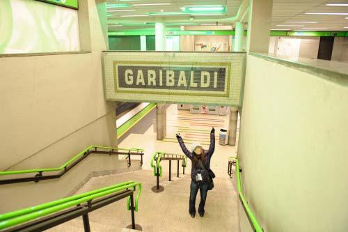 Garibaldi駅