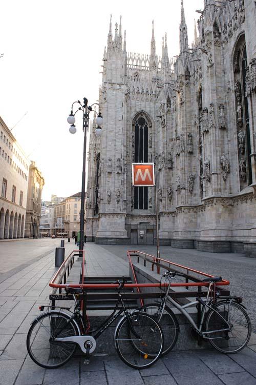 Duomo駅の出口