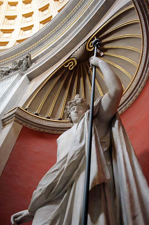 ヴァチカン美術館の彫刻6