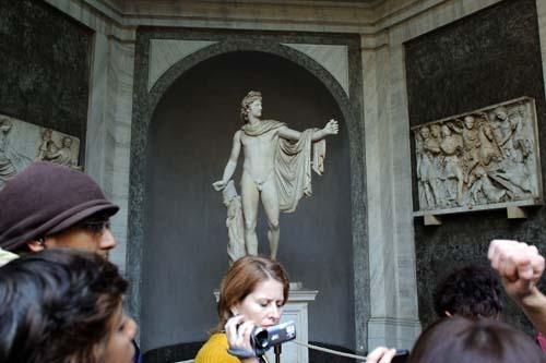 ヴァチカン美術館の彫刻3