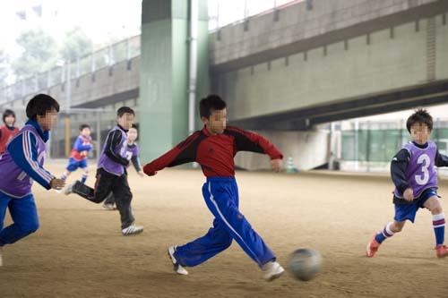 サッカー少年2