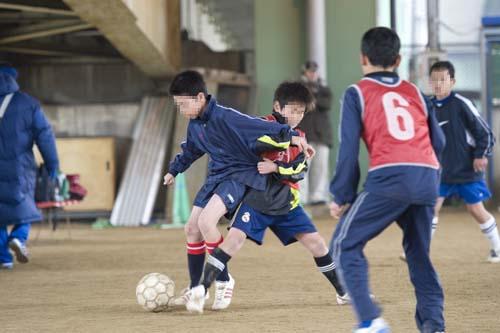 サッカー少年3