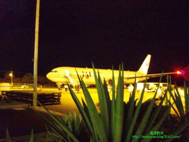 同じく、JAL機の風景