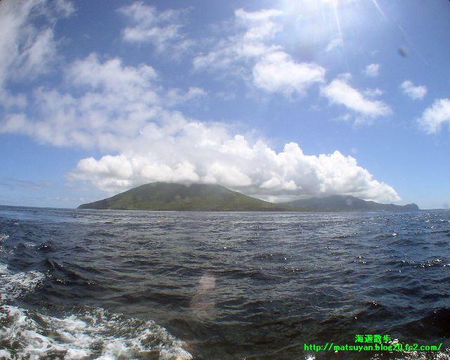 八丈島全景