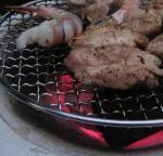 炭火焼きチキンは美味いっ