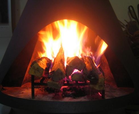 2008秋の暖炉