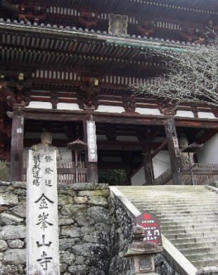 金峰山寺仁王門