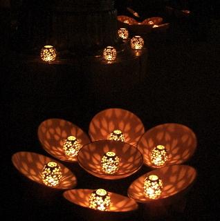 吉野 桜燈火