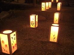 長岳寺 千燈会