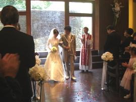 結婚式 in 京都