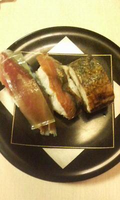 鯖三種寿司