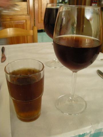 ワインとキ二ー