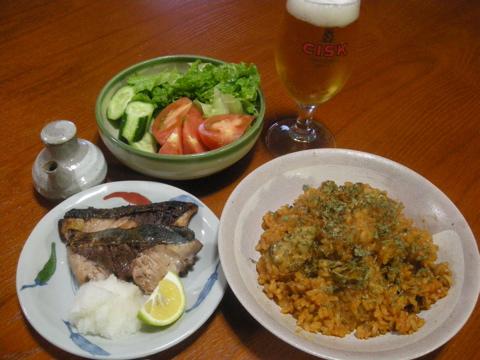 2008年11月16日の夕食