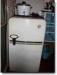 昔の電気冷蔵庫