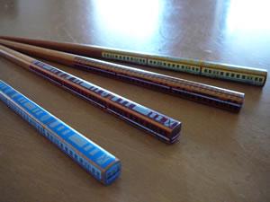 トレイン箸