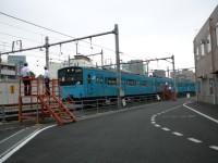 201系体験乗車@東京総合車両センター2008