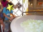 中華鍋体験シミュレーション中