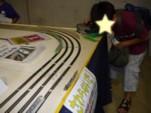 運転体験中@第8回国際鉄道模型コンベンション