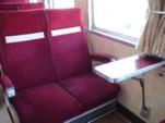 ロマンスカーSE座席@小田急ファミリー鉄道展2007