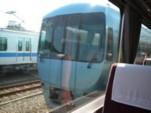 ロマンスカーMSEの反対側@小田急ファミリー鉄道展2007