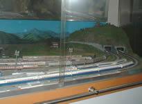 友の湯 鉄道模型
