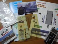 鉄道模型フェスティバル2006・もらいもの