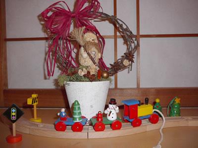 和室の出窓2006Xmas_ver.