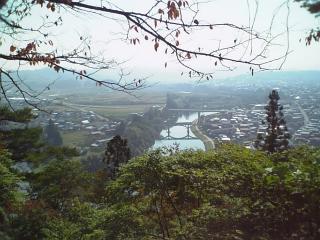 「日本一公園」からの眺望