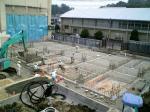 建物の敷地面積がわかり始めました