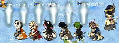 謎の騎士軍団