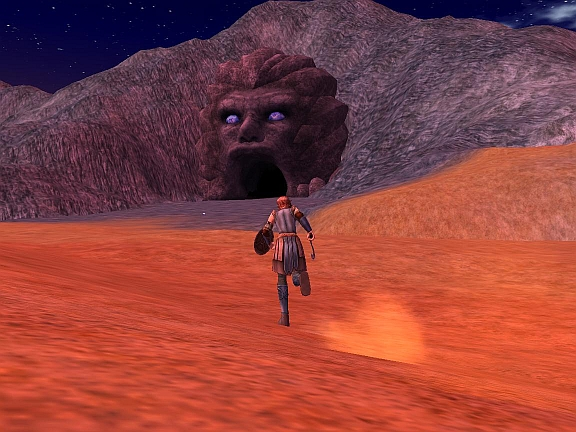 エルブルズの岩穴