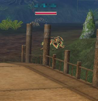 橋の上の妖精さん