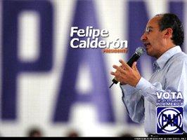 新大統領?フェリーぺ・カルデロン