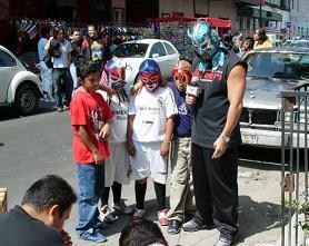 ウルティモ・ドラゴンと子供たち
