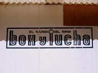 BOX Y LUCHA看板