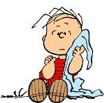 安全毛布が離せないライナス