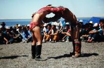 モンゴル相撲