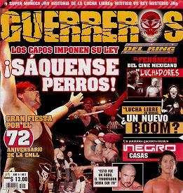「Guerreros del Ring」 創刊号