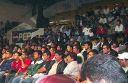 LOPEZ MATEOSの観客