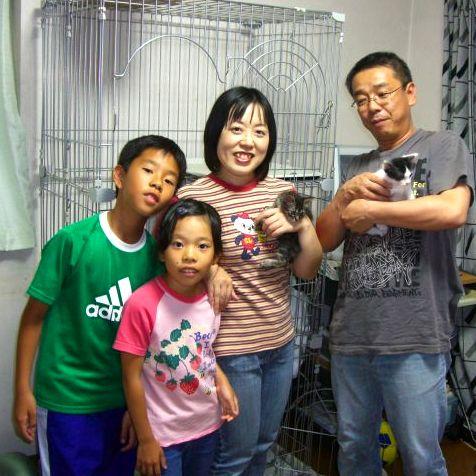 里親さん家族