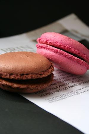 マカロン チョコレート&ラズベリー