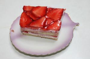 バレンタインデイケーキ?