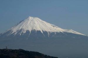 富士山だ~!!