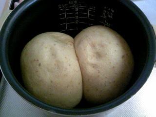 失敗パン炊飯器焼けた