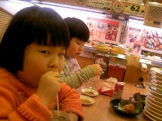 かっぱ寿司にて