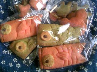 鯉のぼりクッキー横