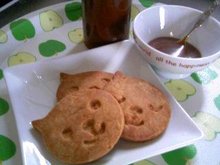 キャラメルクッキー横②